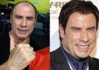 Co robi� w �rodku nocy na si�owni (i bez peruki) John Travolta? Aktor odpowiada