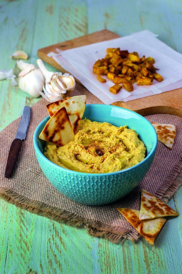 Hummus z dynią i imbirem