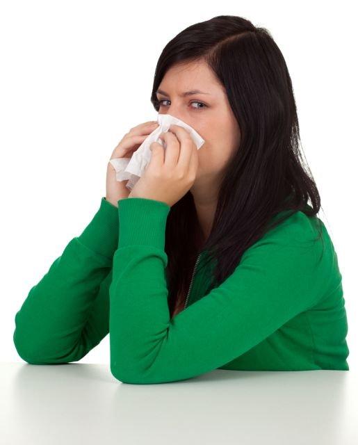Bakteryjny nie�yt nosa