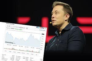 Elon Musk: Tesla może zniknąć z giełdy. Jeden tweet sprawił, że kurs wystrzelił
