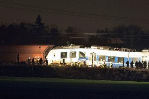 Niemcy: 47 rannych w zderzeniu pociągów koło Düsseldorfu