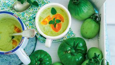 Chłodnik z zielonych pomidorów