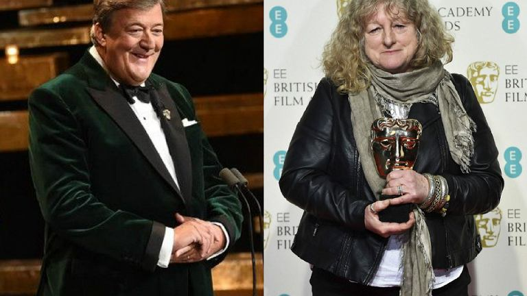 Stephen Fry i Jenny Beavan