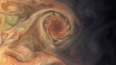 Jupiter's Swirling 'Pearl' Storm