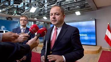 Wiceminister Konrad Szymański w Brukseli