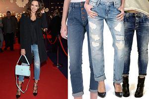 modne jeansy z wyprzedaży