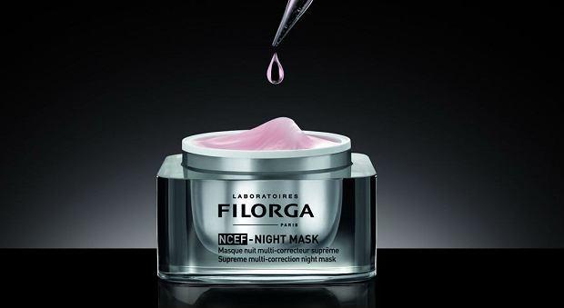 Maska na noc dla zmęczonej i zestresowanej skóry