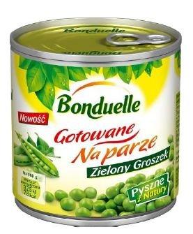 """Nowo�� od Bonduelle - Zielony Groszek """"Gotowane na parze"""""""