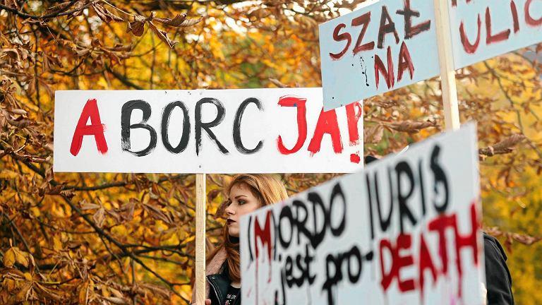 'Czarny protest' w Katowicach, 3 października 2016 r.