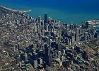 Chicago USA, jezioro Michigan
