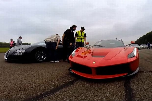 Wideo | Bugatti Veyron vs. Ferrari LaFerrari | Bogowie pr�dko�ci
