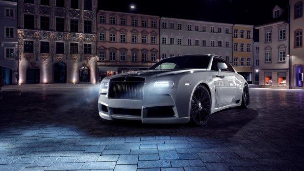Tuning | Spofec Overdose | Rolls-Royce przedawkowa� sterydy