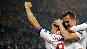 Milik i Lewandowski z urazami po meczu ze Szwajcari�. Zd��� na Portugali�?