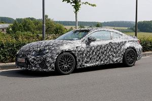 Lexus RC-F - konkurent BMW M4