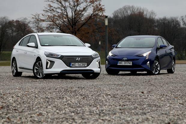 """Dwa zdania"" | Toyota Prius vs Hyundai Ioniq | Konfrontacja"