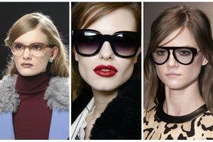 Najmodniejsze modele okular�w w sezonie jesie�-zima 2014/2015. Co proponuj� projektanci?