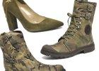 Botki i szpilki w militarnym stylu
