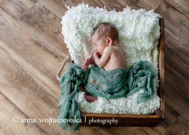 Sesja noworodkowa fotograf Anny Wojtaszewskiej