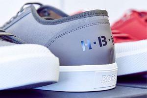 Hugo Boss - stylowe sneakersy dla mężczyzn z klasą
