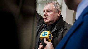 Sąd Okręgowy w Poznaniu. Proces Adama Z. oskarżonego o zabójstwo Ewy Tylman. Na zdjęciu Andrzej Tylman