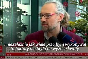 """Kijowski tłumaczy się z faktur. """"Było to mocno niefortunne"""""""
