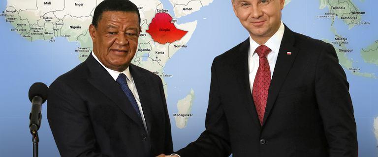 Prezydent Andrzej Duda rekomenduje polskim firmom Etiopię. Jest to bardzo interesująca perspektywa