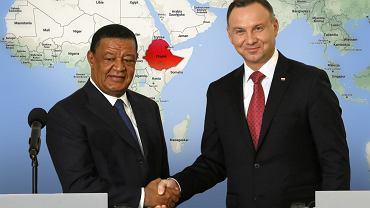 Prezydent Andrzej Duda zachęca do inwestowania w Etiopii