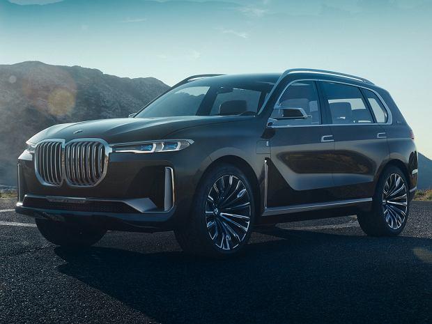Wyciekły zdjęcia BMW X7 Concept. Oto zapowiedź nowego okrętu flagowego marki