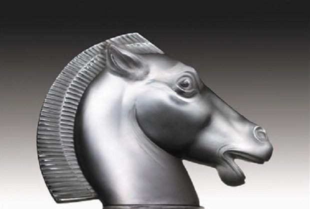 Figurka Konia (Rene Lalique)