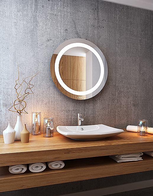 Lustro łazienkowe Jowisz LED