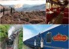 Szybki pociąg z Londynu do Marsylii czy zabytkowy parowóz po Patagonii? Najlepsze trasy na podróż pociągiem 2015