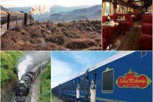 Szybki poci�g z Londynu do Marsylii czy zabytkowy parow�z po Patagonii? Najlepsze trasy na podr� poci�giem 2015
