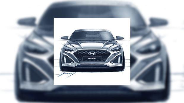 Hyundai Sonata | Pierwsze szkice