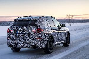 Nowe BMW X3   Testy na dalekiej Północy