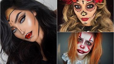 Makijaż na Halloween 2017