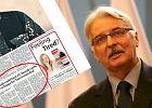 """Ok�adka """"Daily Telegraph""""/Witold Waszczykowski"""
