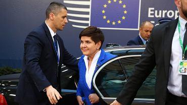 Beata Szydło w Brukseli
