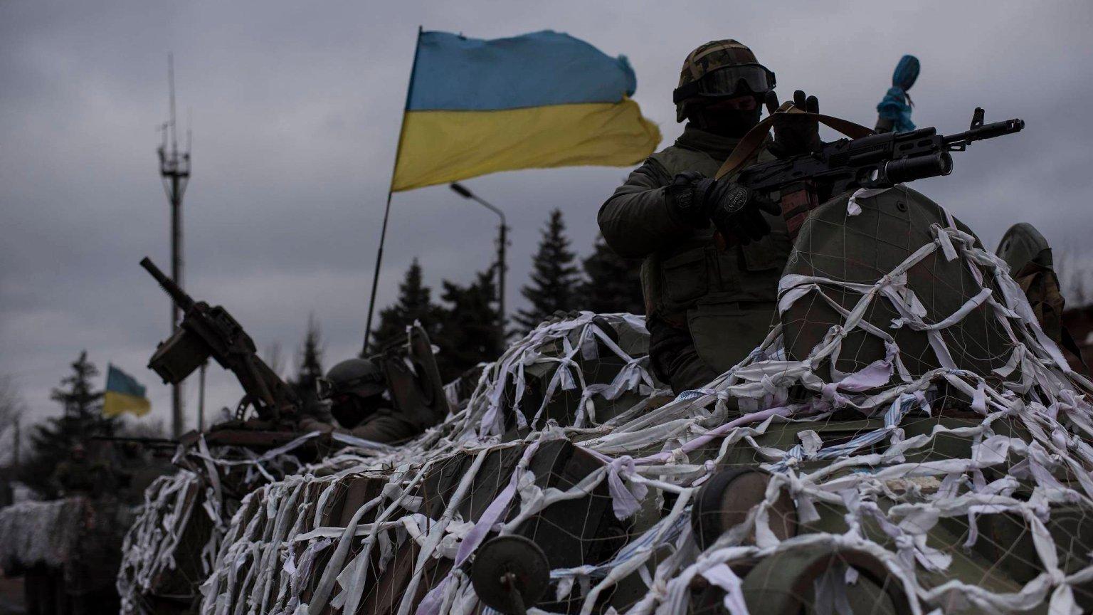 Ukraińska armia, Debalcewe w obwód doniecki, luty 2015