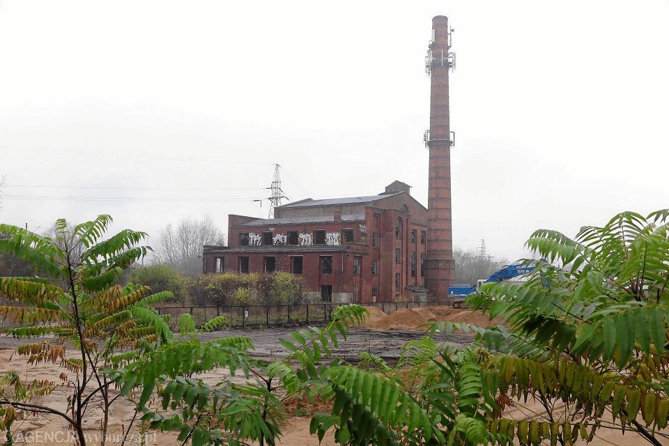 Stara elektrownia na Radziwiu