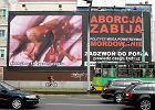 Martwe płody na billboardach