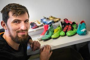 d7c151e5b Stworzył największą giełdę butów piłkarskich w Polsce. Sam ma ich ponad  300. Jak działa
