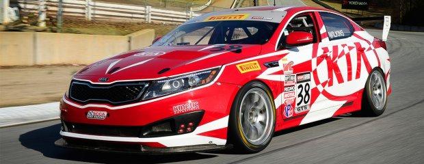 Kia Optima Race Car