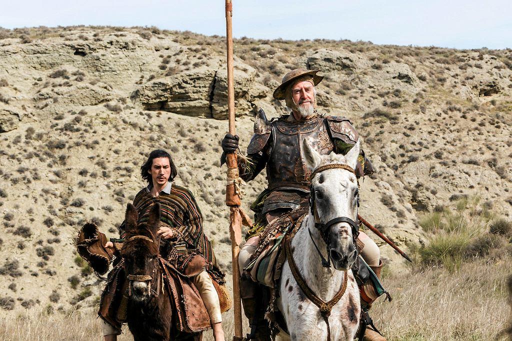 Jonathan Pryce i  Adam Driver w filmie 'Człowiek, który zabił Don Kichota' / DIEGO LOPEZ CALVIN
