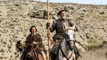 Jonathan Pryce i  Adam Driver w filmie 'Człowiek, który zabił Don Kichota'