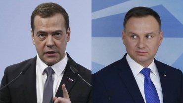 Andrzej Duda odpowiada Miedwiediewowi. Tak ostro, b�d�c prezydentem, jeszcze nie m�wi�