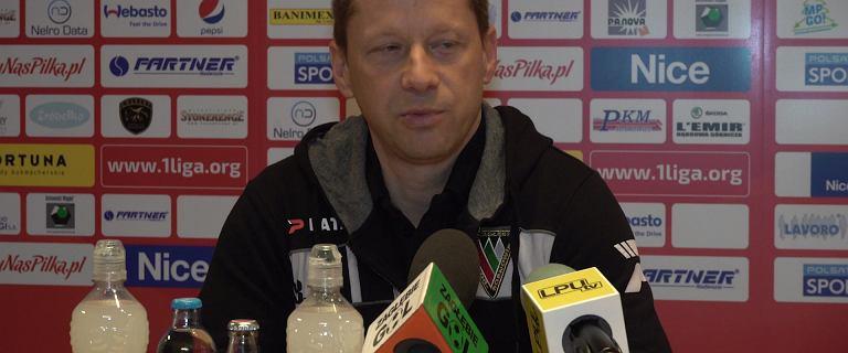 Dariusz Banasik po wygranej Zagłębia Sosnowiec: Nie ma się co cieszyć
