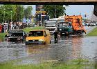 """""""Armagedon"""" we Wroc�awiu. Ulewa sparali�owa�a miasto. Wed�ug prognoz jeszcze popada [ZDJ�CIA]"""