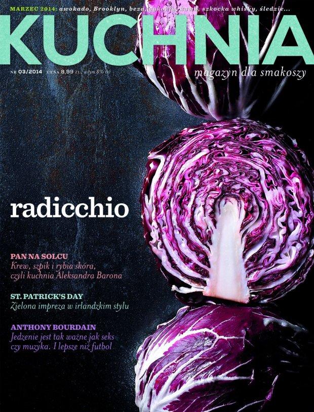 Marcowy numer magazynu Kuchnia ju� w sprzeda�y! Zajrzyjcie koniecznie - mamy dla Was wi�cej stron, wi�cej ciekawych przepis�w i - jeszcze wi�cej do poczytania