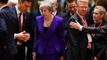 Brexit. Premier Wielkiej Brytanii Theresa May podczas szczytu UE