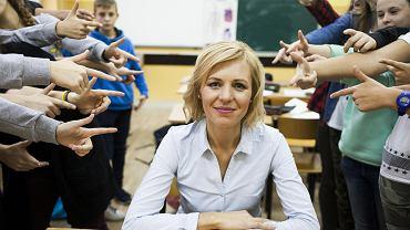 Joanna Urbańska od 13 lat uczy dzieci w szkole w Susku. Nie zamieniłaby wsi na miasto